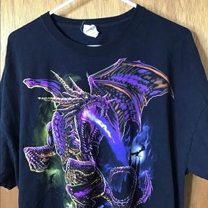 Vtg 90s 00s dungeons and dragons t shirt xxl
